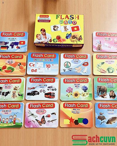 Bộ Thẻ Học Thông Minh Flash Card Glenn Doman Song Ngữ Cho Bé