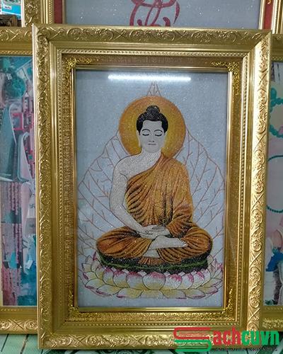 Tranh thêu Phật Tổ Như Lai - Tranh thêu đặc sắc